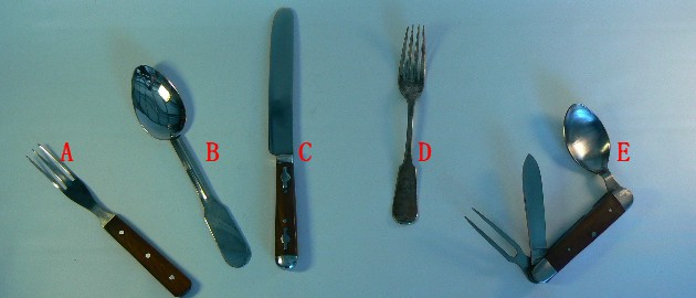 knife, Fork and Spoons