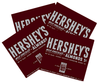 Hershey's Almond Wrappers - 4 Pack